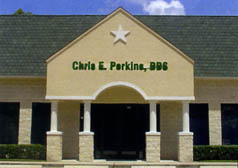 Our building at 611 Rockmead Suite 400 Kingwood, TX, Houston Dental Implants and Oral Reconstruction, Chris Perkins, DDS.